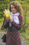 Autumn walk. Stock Photo