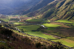 Autumn walk Nant Francon Stock Photography