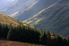 Autumn walk Nant Francon Stock Photo