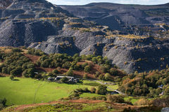 Autumn walk Nant Francon Stock Image
