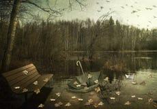 Autumn Waltz Stock Photo