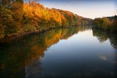 Autumn water Stock Image