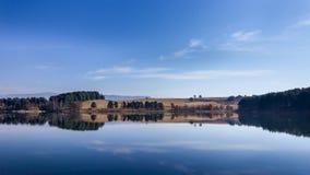 Autumn Water Reflections stock photos