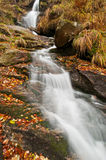 Autumn Waterfall stock image