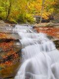 Autumn Waterfall Canyon River Royalty Free Stock Photo