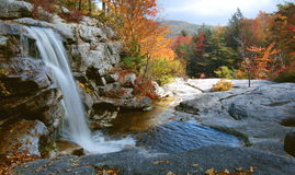 Autumn Waterfall, Shawangunks royalty free stock photography
