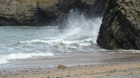 Autumn waves Stock Photos