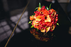 Autumn wedding bouquet Royalty Free Stock Image