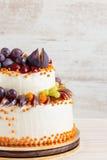 Autumn wedding cake Stock Photo