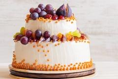 Autumn wedding cake Royalty Free Stock Photos