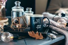 Autumn weekend concept Royalty Free Stock Photography