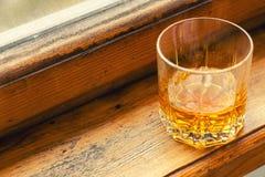 Autumn whiskey tumbler Stock Photo
