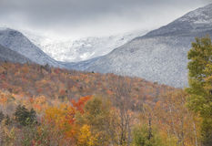 Autumn in  the White mountains Royalty Free Stock Photos