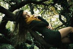 Autumn winter fashion girl Royalty Free Stock Photo