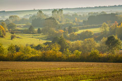 Autumn Wolds Royaltyfri Bild