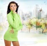 Autumn woman Royalty Free Stock Photo