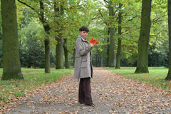 Autumn woman #20 Stock Photo