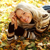 Autumn woman Royalty Free Stock Photos