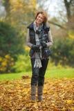 Autumn Woman Royalty Free Stock Image