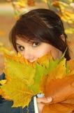 Autumn Woman 6 Stock Image