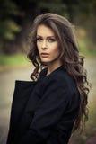 Autumn woman portrait Stock Photos