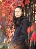 Autumn Woman Portrait. Royalty Free Stock Photo