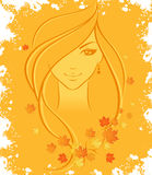 Autumn women Stock Photo
