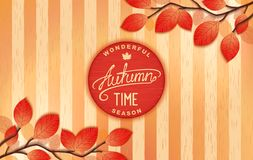 Autumn - wonderful time Royalty Free Stock Images