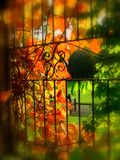 Autumn at worden park Royalty Free Stock Photos