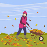 Autumn works Royalty Free Stock Photography