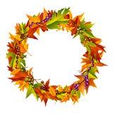 Autumn Wreath vector illustration