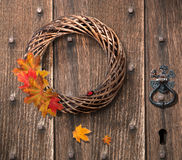 Autumn Wreath Stock Image
