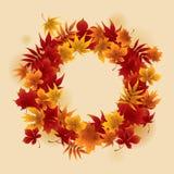 Autumn Wreath Illustration de Vecteur