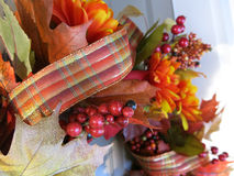 Autumn Wreath Photo stock