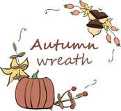 Autumn Wreath illustration stock