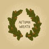 Autumn Wreath Imagen de archivo