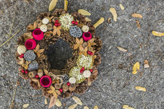 Autumn Wreath Lizenzfreie Stockbilder