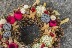 Autumn Wreath Fotos de archivo libres de regalías