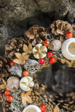 Autumn Wreath Lizenzfreies Stockbild
