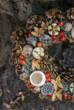 Autumn Wreath Stockbild