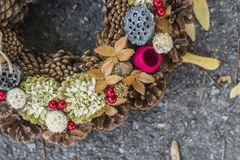 Autumn Wreath Lizenzfreies Stockfoto