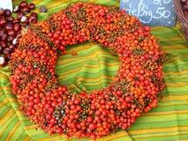 Autumn wreath Royalty Free Stock Photos