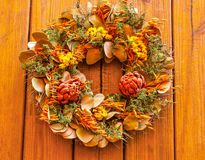 Autumn Wreath Stock Image