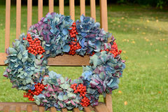 Autumn wreath Royalty Free Stock Photos