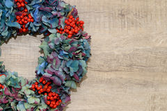 Autumn  wreath Stock Photography