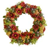 Autumn Wreath. For use as a background etc royalty free stock images