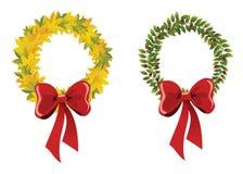 Autumn wreaths Royalty Free Stock Photography