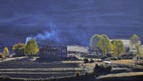 The autumn of Xinduqiao Stock Image