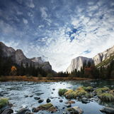 Autumn in Yosemite Royalty Free Stock Images