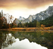 Autumn in Yosemite Royalty Free Stock Image